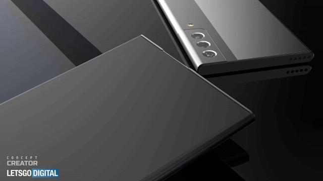 'Concept' imagina Galaxy Note com ecrã 'enrolável'