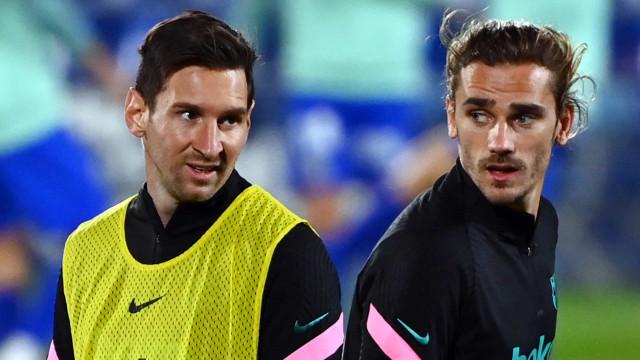"""""""Messi e Griezmann jogam como um bando de pasteleiros"""""""