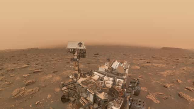 Rover encontrou sinais de inundações catastróficas em Marte