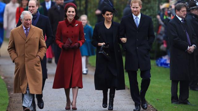 Família real britânica já tinha conhecimento do aborto de Meghan Markle