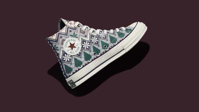 O Natal já chegou à Converse: Os sneakers que tem mesmo de comprar