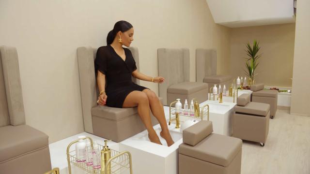 Empresária e apresentadora da SIC Caras abre salão de estética e beleza