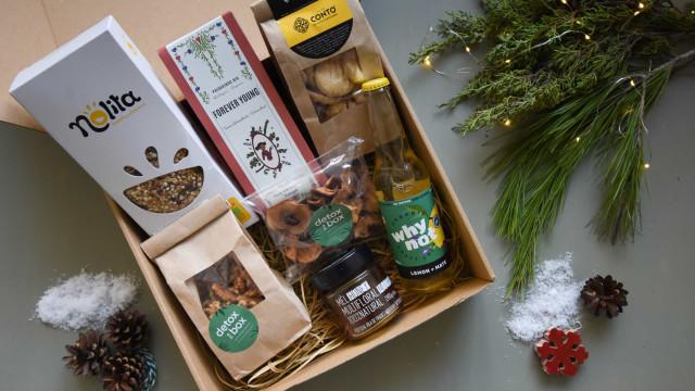 Este Natal, a Detox in a Box quer oferecer um boost de energia e saúde