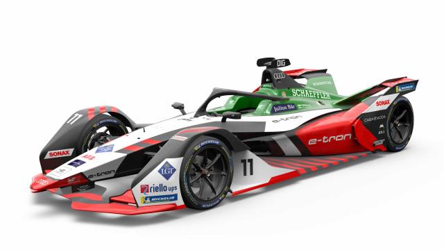 Audi revelou o novo carro para competir na Formula E
