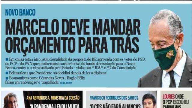 Hoje é notícia: OE2021 para trás?; Eficácia não provada em idosos