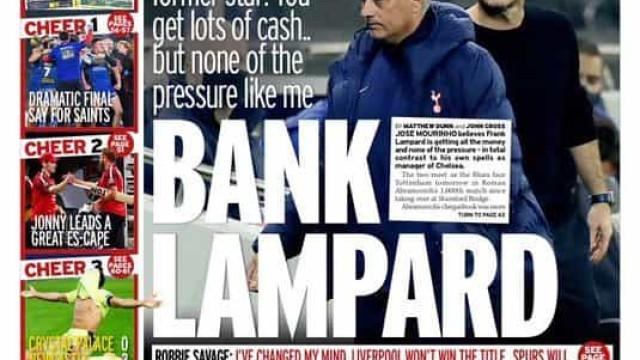 Lá fora: Do regresso de Mike Tyson ao embate entre Mourinho e Lampard