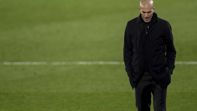 Zidane está por um fio. Real Madrid já tem dois sucessores em carteira
