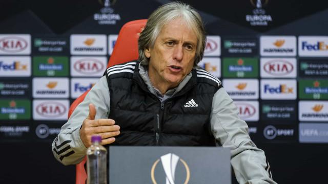 """Jorge Jesus avisa: """"Isto vai ser uma Champions, não uma Liga Europa"""""""