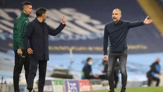 """Indisposto""? Guardiola deixa FC Porto sem resposta"