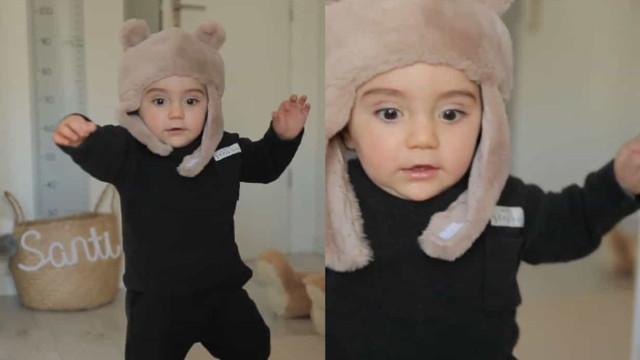 Filho mais novo de Liliana Filipa começa a andar antes de fazer um ano