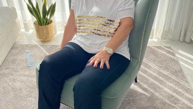 "Dolores Aveiro descobre talento aos 65 anos: ""Uma caixa de surpresas"""