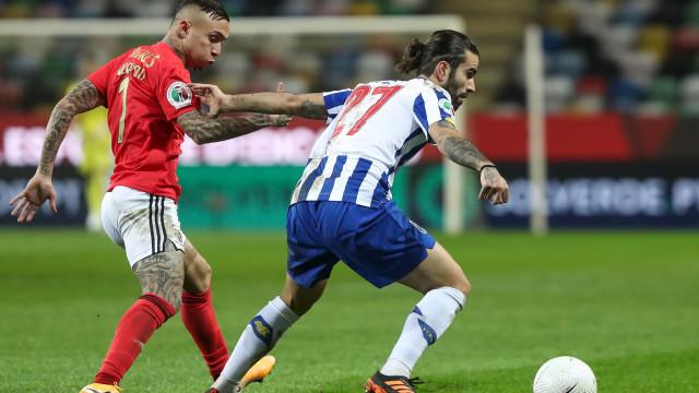 Os onzes iniciais de FC Porto e Benfica para o Clássico no Dragão