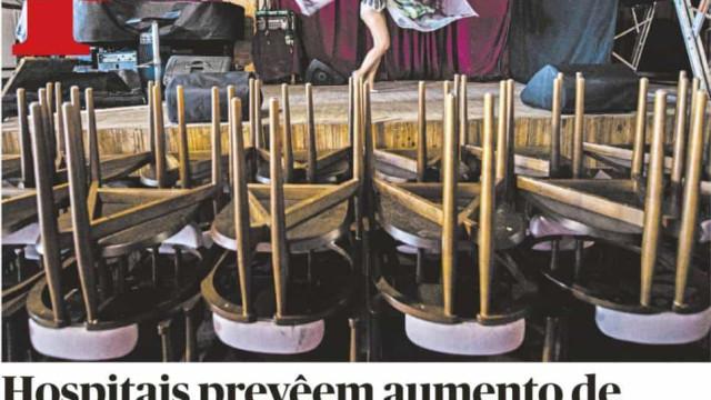 Hoje é notícia: Internados podem subir; Juíza reformada compulsivamente