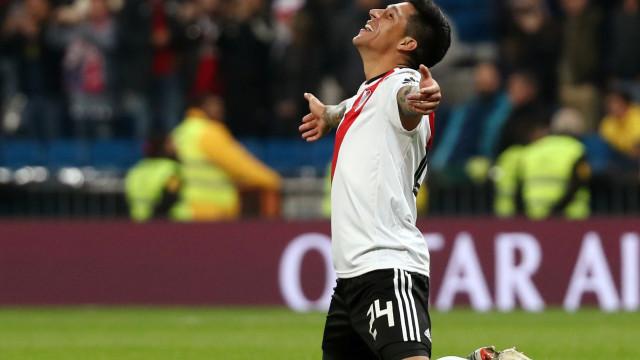 Gallardo tenta convencer Enzo Pérez a não partir para o Benfica
