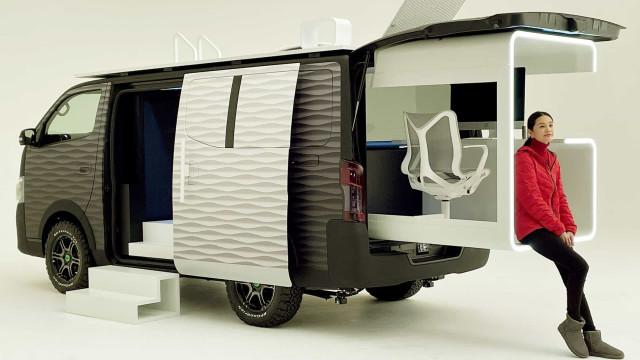 Nissan criou carrinha ideal para os fãs de trabalho remoto