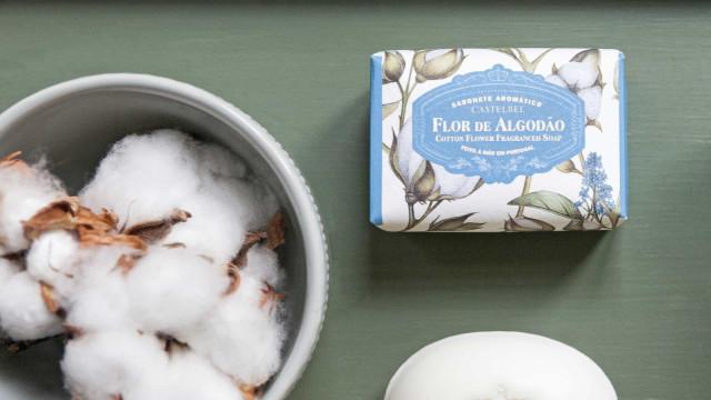 Castelbel Flor de Algodão. Apaixone-se pelo aroma suave e reconfortante