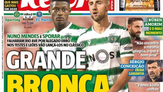 Por cá: Grande bronca, FC Porto ameaça não ir a jogo e a razia no Benfica