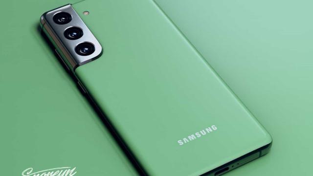 Galaxy S21 poderá ter direito a versão em verde