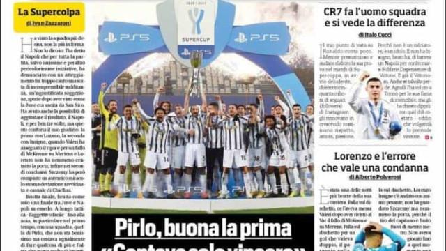 """Lá fora: Da """"humilhação"""" em Espanha ao """"relâmpago"""" Ronaldo em Itália"""