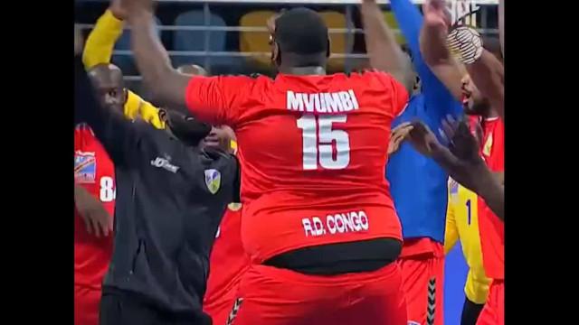 A celebração viral da seleção do Congo após o primeiro triunfo no Mundial
