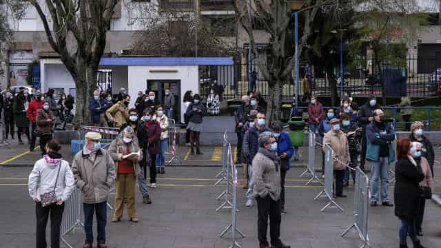 O retrato de um país a exercer o direito de voto em plena pandemia