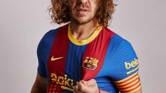 Puyol regressa 'ao ativo' para mostrar camisola do El Clasico