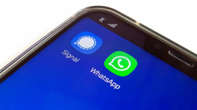 As opções que a Signal pode ir 'buscar' ao WhatsApp