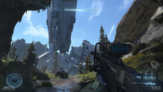 Microsoft partilhou novas (e belas) imagens de 'Halo Infinite'