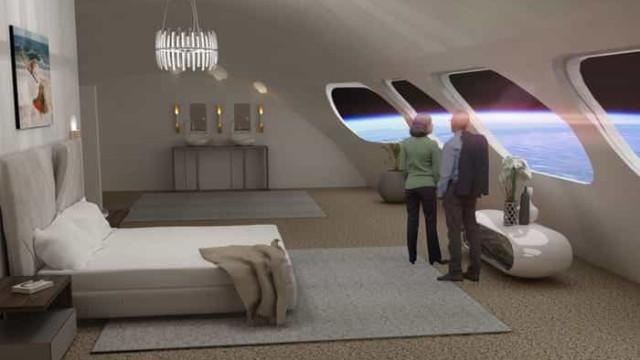 Primeiro hotel espacial terá capacidade para 400 pessoas. Eis as imagens