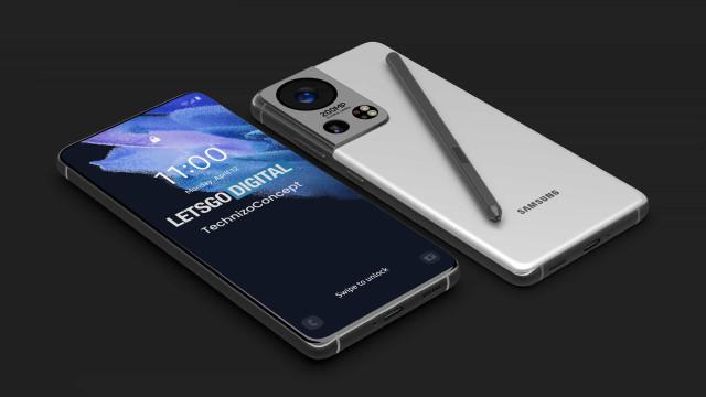 Samsung. 'Concept' tenta imaginar como será o topo de gama de 2022