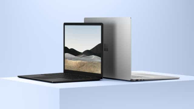 Surface Laptop 4 chega este mês. Veja as imagens