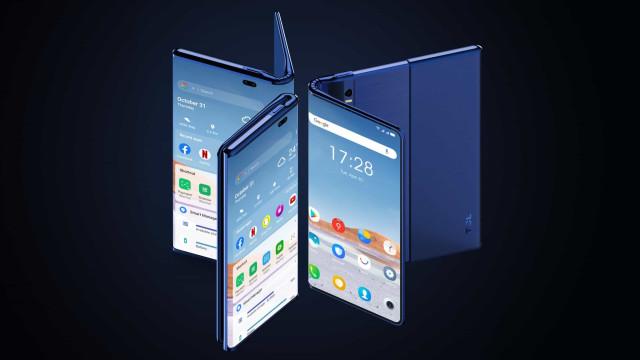 Telemóvel e tablet num único dispositivo. Veja o 'concept' da TCL