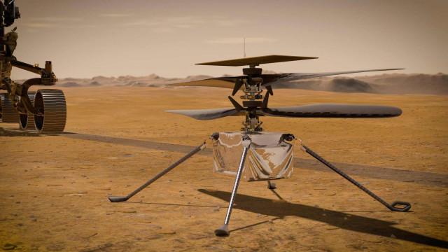 NASA tem más notícias para quem quiser andar de helicóptero em Marte