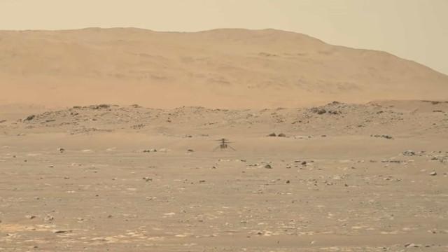 Ingenuity conseguiu voar em Marte. Veja o vídeo