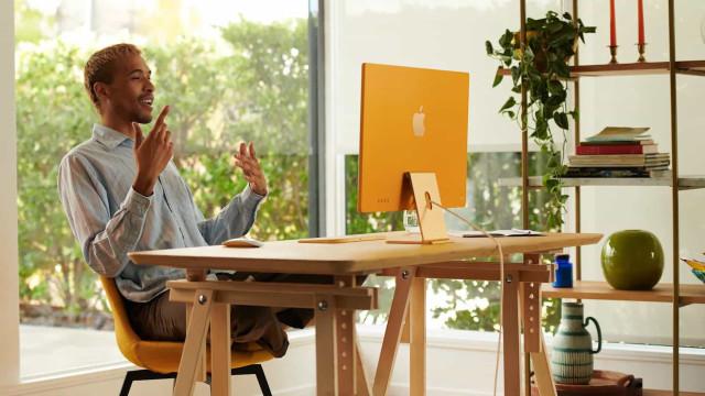 O iMac está de volta. Apple anunciou o novo (e mais elegante) modelo