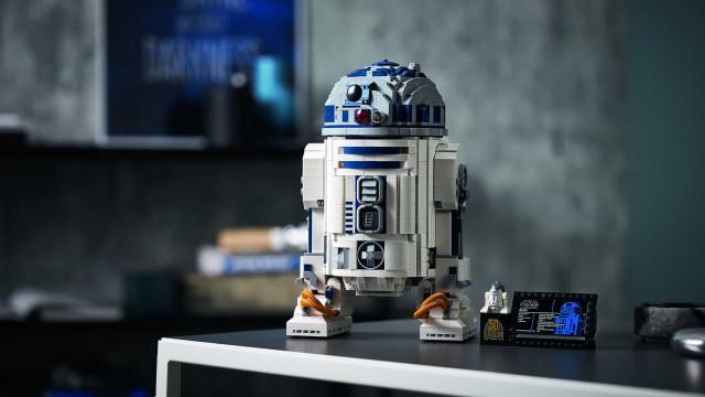 Vem aí o set de construção LEGO Star Wars R2-D2. O droide mais adorado