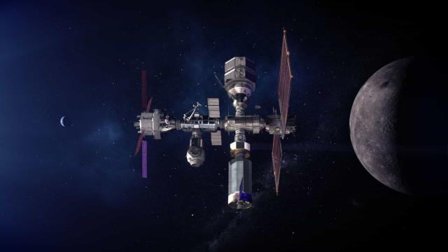 NASA partilha imagens da Gateway, o futuro das viagens à Lua
