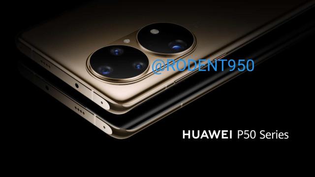 Huawei P50. Estão a circular mais imagens do topo de gama