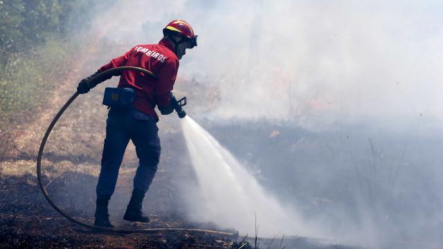 Trinta e cinco concelhos de oito distritos em risco máximo de incêndio