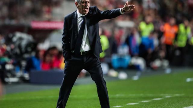 Fernando Santos anuncia convocados de Portugal para a Liga das Nações