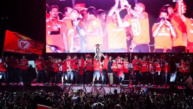 Benfica com sete no 'onze' ideal da UEFA para a liga portuguesa