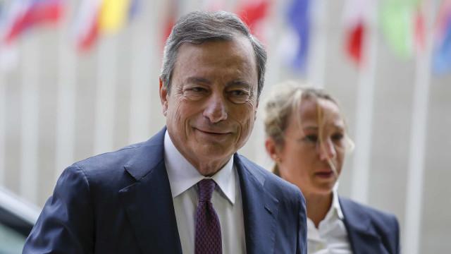 Fórum do BCE de 'despedida' de Draghi começa hoje em Sintra