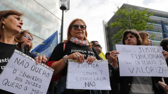 Sindicato dos Funcionários Judiciais diz que a adesão à greve é elevada