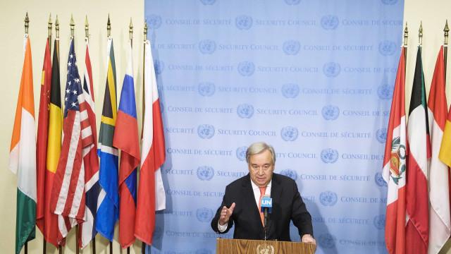 """Guterres, """"profundamente preocupado"""", pede proteção da Amazónia"""