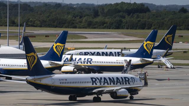"""Sindicato lamenta """"não atuação do Governo"""" na greve da Ryanair"""