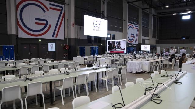G7 discute a partir de hoje Irão, Brexit, Amazónia e economia mundial