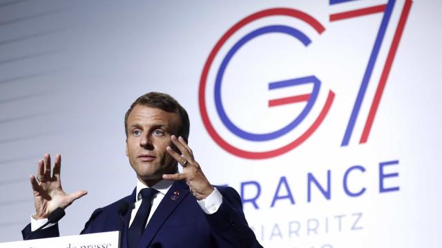 Macron insultado no Twitter por ministro brasileiro