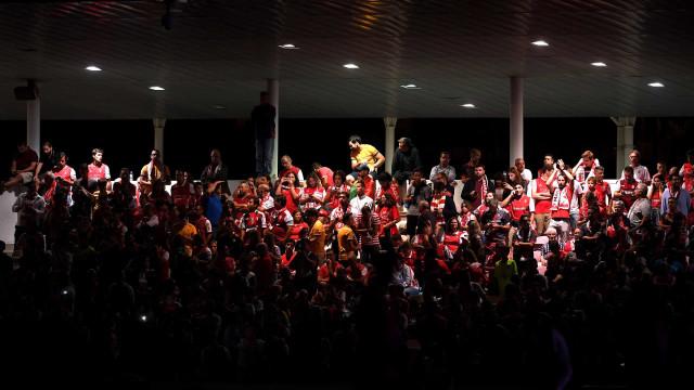 Falha de luz obriga a paragem no jogo Gil Vicente-Sp. Braga