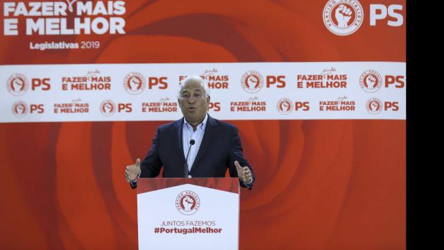 "Costa felicita PSD mas salienta ""resultado histórico"" do PS"
