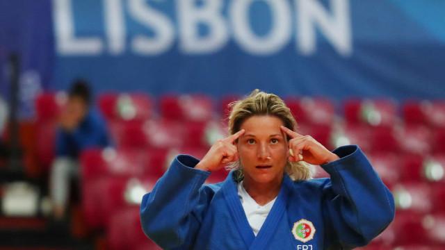 Telma Monteiro sagra-se campeã europeia de judo